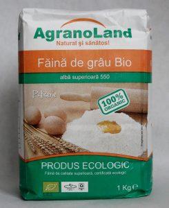 Făină ecologică albă grâu AgranoLand