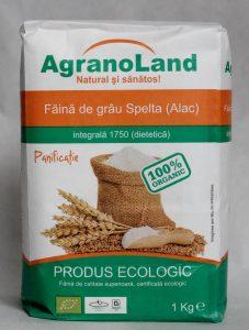 Făină ecologică albă grâu SPELTA AgranoLand